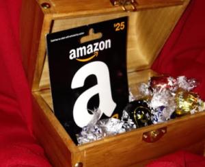 treasure chest prize